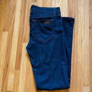 Joe's Jeans Dark Blue Slim Fit Mini Boot Cut 30